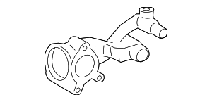 Thermostat Housing - Toyota (16323-0P030)