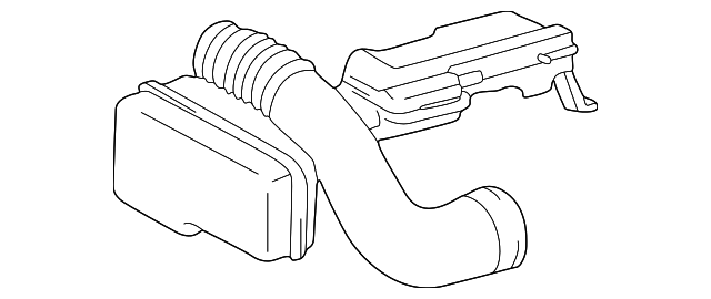 Toyota 17875-50330 Air Intake Connector Pipe