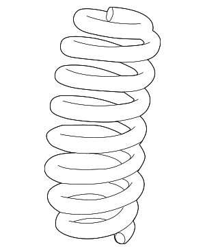 Coil Spring - GM (84312878)