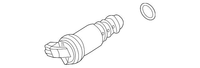 genuine bmw solenoid valve 11