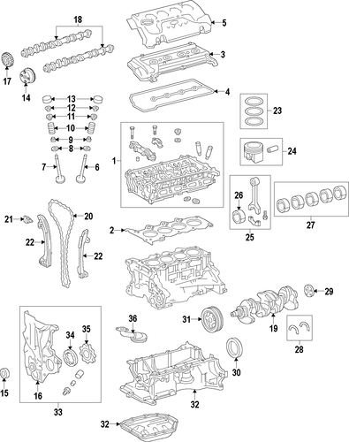 ENGINE/ENGINE for 2014 Toyota Yaris #1