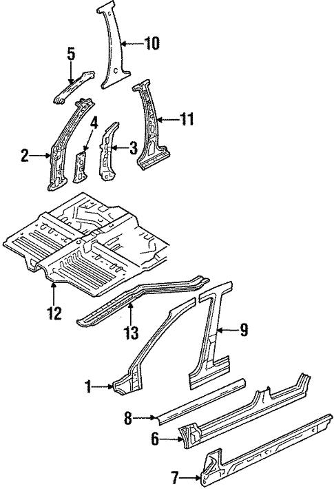 2002 ford escort parts diagram