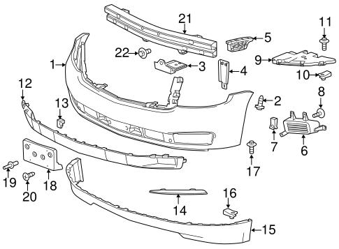 Tahoe Body Parts Diagram - Schematics Wiring Diagrams •
