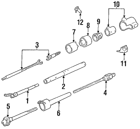 Chevy S10 Steering Column Diagram - Wiring Diagram Direct bored-demand -  bored-demand.siciliabeb.itbored-demand.siciliabeb.it