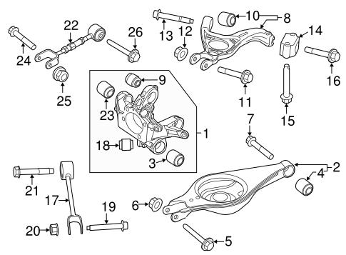 Rear Suspension For 2012 Ford Explorer Quirkparts