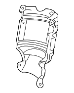 Cover B, Rear Primary Converter