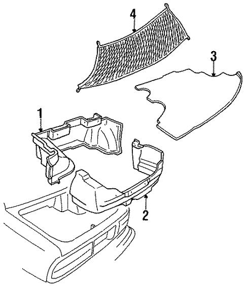 1990 Oldsmobile Ciera Interior