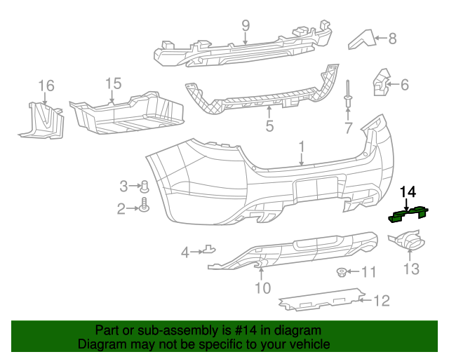 Exhaust Shield Bracket