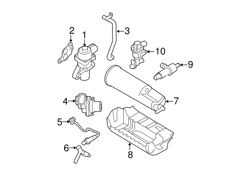 Emission Components For 2010 Ford Ranger