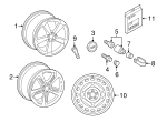 Wheel, Alloy - Audi (4G8-601-025-AQ)