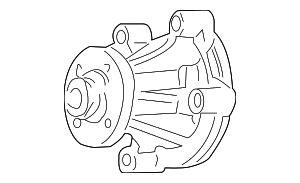 Water Pump - Ford (5W7Z-8501-AA)