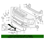 Tow Bracket Cover - Land-Rover (LR032211)
