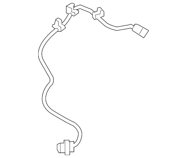 4670A577 ABS Speed Sensor Front Left for Mitsubishi Lancer 2008-2015