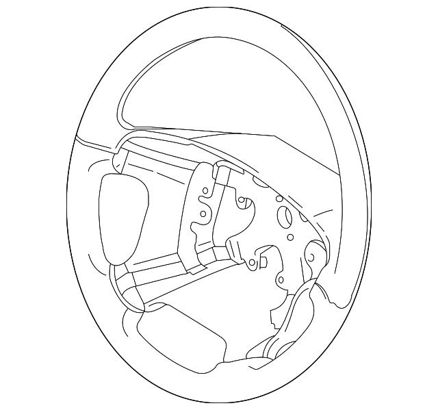 Volvo Steering Wheel 30741096