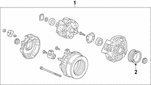 Alternator Assembly (CSP47) (Denso)