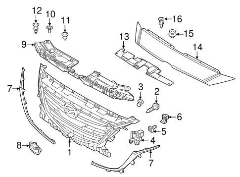Fantastic Mazda Engine Parts Diagram Electrical Wiring Diagram Symbols Wiring Digital Resources Zidurslowmaporg
