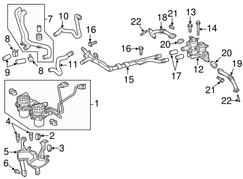 Emission Components for 2009 Toyota Tundra #0