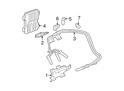 Tail L  Assembly Replacement likewise Gm Power Steering Return Hose 26095038 likewise Honda Air Bag Sensor Location additionally 2014 Yukon Fuse Box Diagram further Dodge Dakota 2003 Dodge Dakota Location Of Backup Light Switch. on gmc headlights