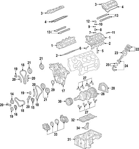 engine for 2004 cadillac cts