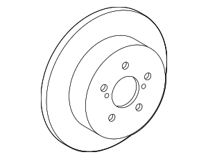 Disc Brake Rotor - Toyota (42431-12310)