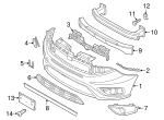 Air Deflector - Mopar (68266755AA)