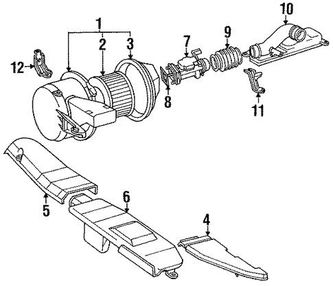 Air Inlet For 1991 Lexus Ls400