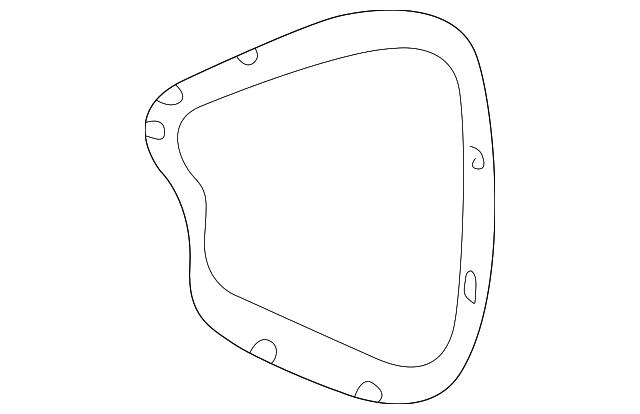 fuse box door - gm (15816274)