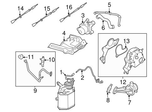 emission components for 2007 volkswagen beetle