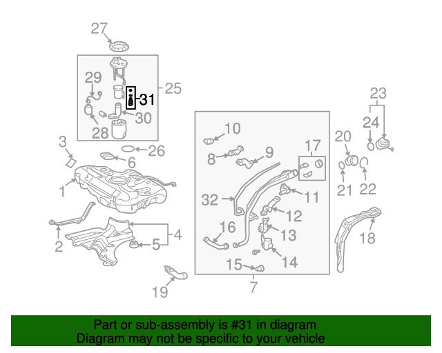 fuel pressure regulator gm 88974776 gmpartsdirect com rh gmpartsdirect com GM Part Number Database GM Performance Parts Catalog