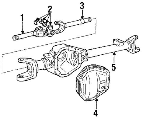 Front Axle for 1987 Dodge W250 | MOPAR Parts Depot