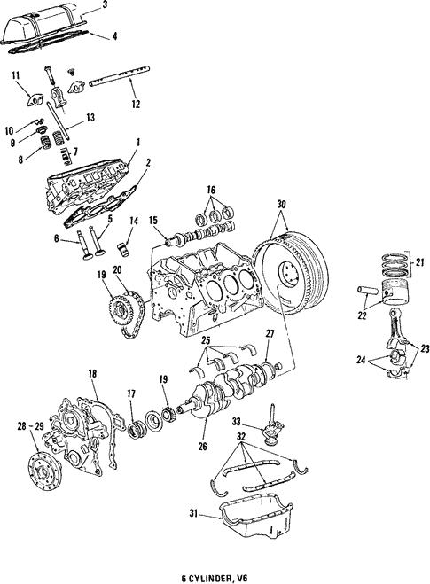 Engine Parts For 1984 Chevrolet Impala