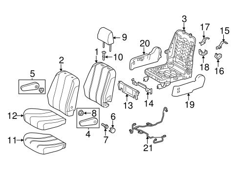 TOYOTA 72820-08031-B0 Seat Armrest Assembly