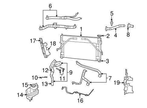 Radiator & Components for 2008 Dodge Avenger   Mopar PartsMopar Parts - Mopar Online Parts