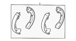 Brake Shoes - Kia (58315-FDA01)