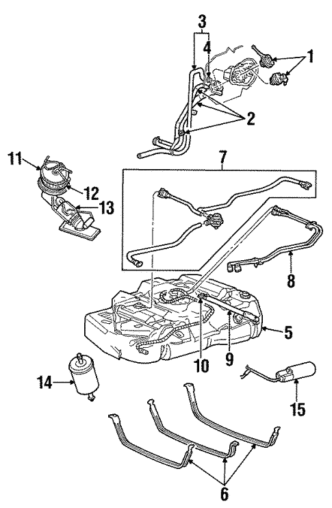 Fuel System Components For 2001 Ford Windstar