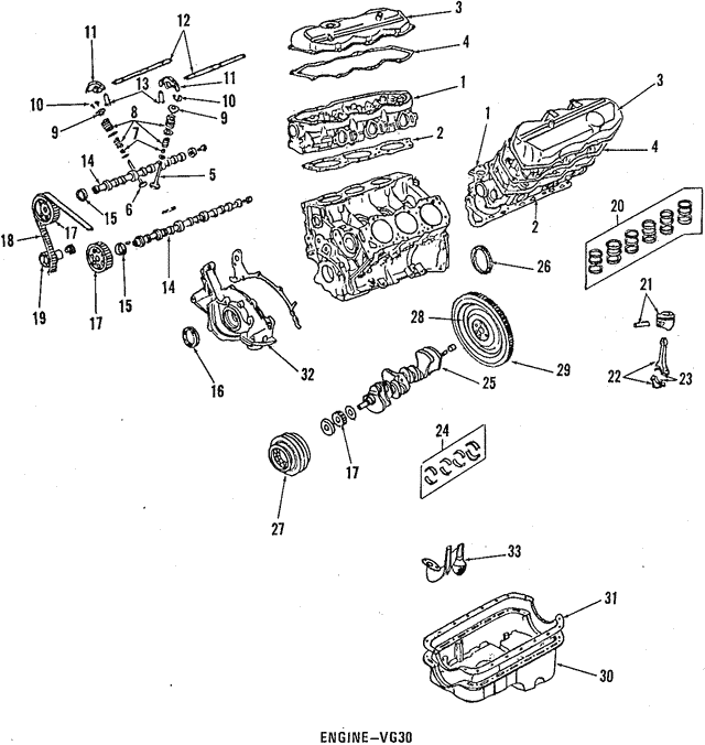 1989 1998 Nissan Cylinder Head 11040 85e01