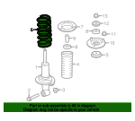 Coil Spring - Nissan (54010-1LD4D)