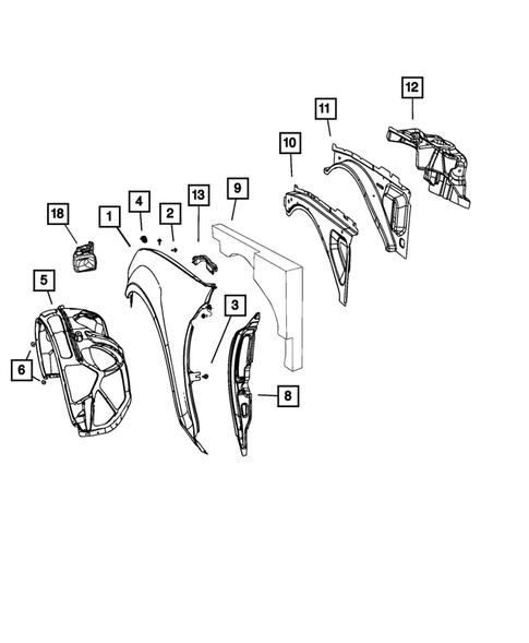 SELF TAPPING SCREW Chrysler 6505903AA