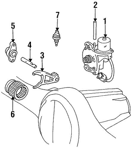 Actuator For 1997 Toyota Land Cruiser Trdtoyotapar