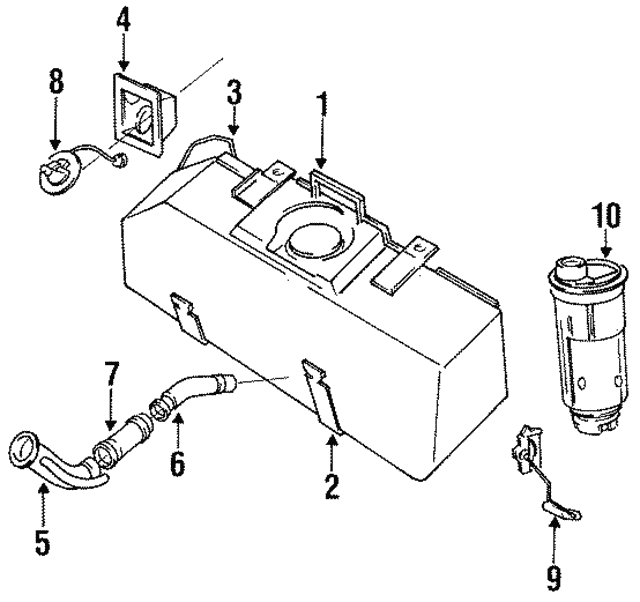 Fuel Pump: 1988 Dodge Dakota Fuel Pump Wiring Diagram At Nayabfun.com