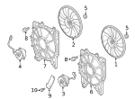 Fan, Cooling - Honda (38611-RPY-G01)