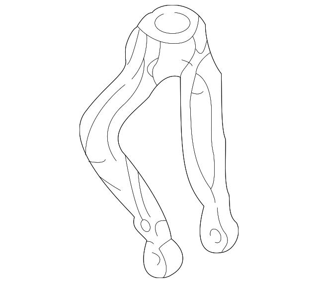 Genuine OEM Fork, L Front Shock Absorber Part# 51821-S84