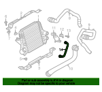 Hose - Ford (DL3Z-9J478-B)