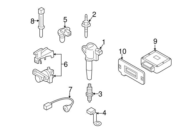 Mazda L3H5-18-840 Engine Coolant Temperature Sensor