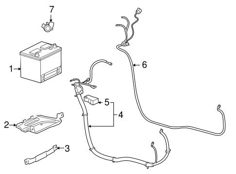 Battery For 2006 Chevrolet Impala Gmpartonline