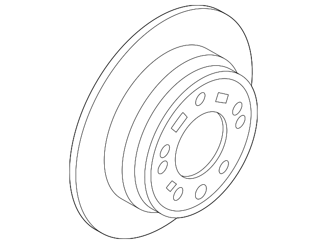 2011 2019 Hyundai Rotor 58411 3s100