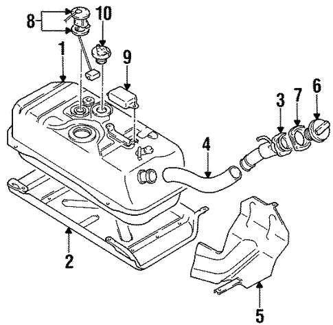 Chevy Tracker Fuel System Diagram