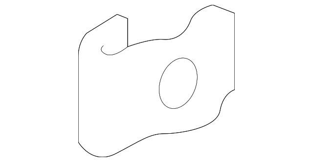 Clip A Genuine Honda 75315-TP6-A01 Door Garnish Lower