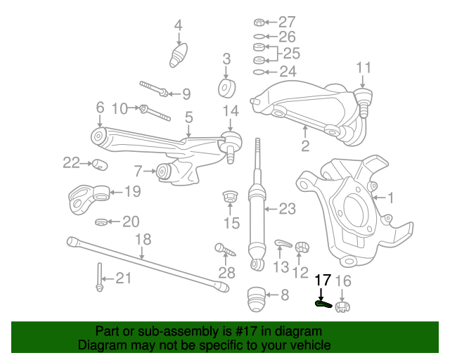 Lower Ball Joint Pin