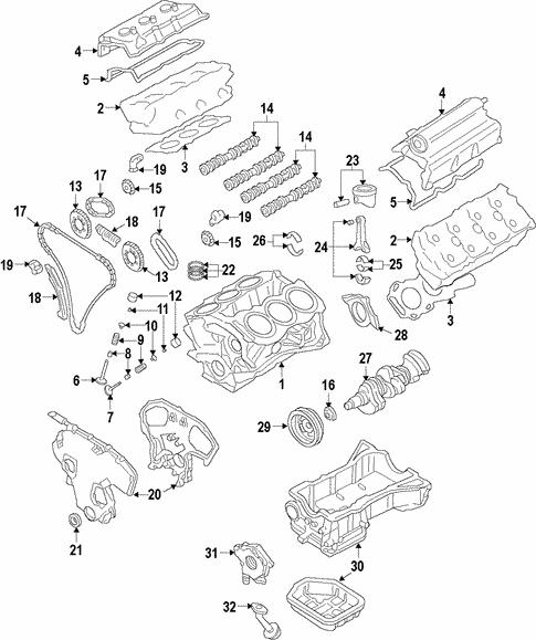 Engine For 2016 Infiniti Qx70